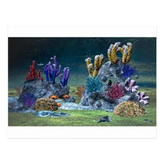 Arrecife de coral impresionante postales