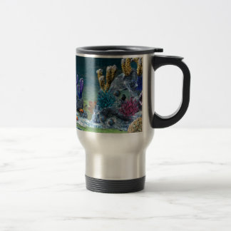Arrecife de coral impresionante taza de viaje