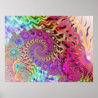 Arrecife de coral poster