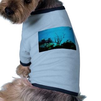 Arrecife de coral camiseta de perrito
