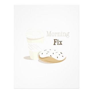 Arreglo de la mañana plantillas de membrete