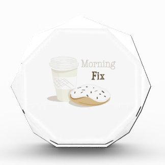 Arreglo de la mañana