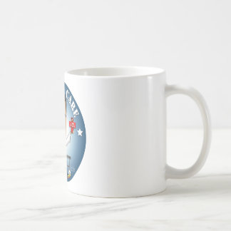 Arreglo del mitón él - atención sanitaria taza de café