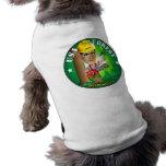 Arreglo del mitón él - bosque camisas de mascota