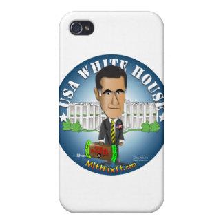 Arreglo del mitón él - Casa Blanca iPhone 4 Funda