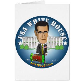 Arreglo del mitón él - Casa Blanca Tarjetas