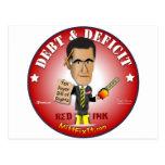 Arreglo del mitón él - deuda y déficit postales