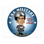 Arreglo del mitón él - militares tarjetas postales