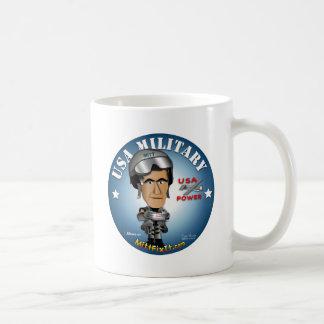 Arreglo del mitón él - militares taza de café