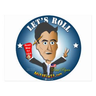 Arreglo del mitón él - Paul Ryan Postales