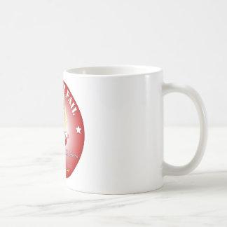 Arreglo del mitón él - señora América Taza De Café