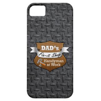 Arreglo-él del papá divertido el día de padre iPhone 5 carcasas