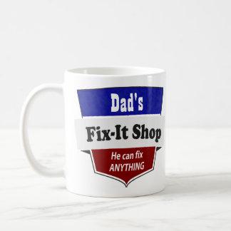 Arreglo-él del papá tienda - personalizar con taza