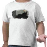 Arreglo en No.1 gris y negro Camisetas