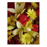 Arreglo floral 313a postal