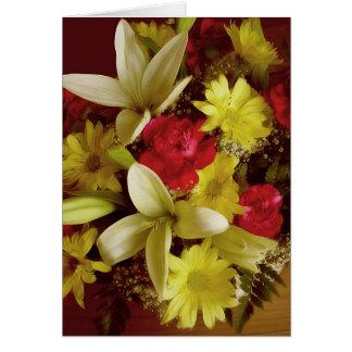 Arreglo floral 313a tarjeta