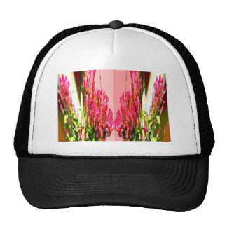 Arreglos florales rosados gorro de camionero