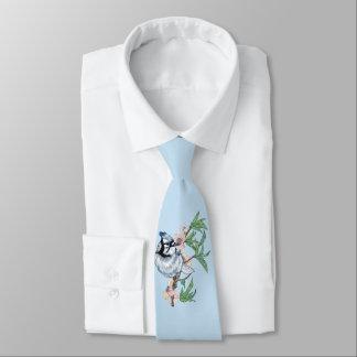 Arrendajo azul corbatas