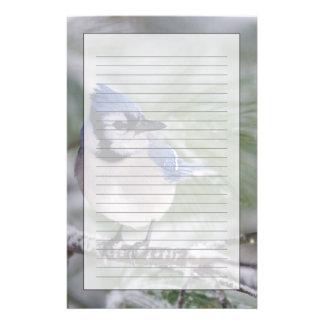 Arrendajo azul, cristata del Cyanocitta Personalized Stationery
