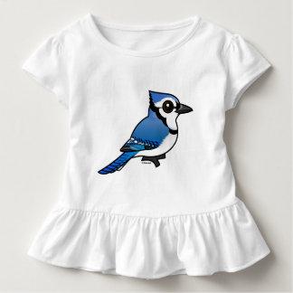 Arrendajo azul de Birdorable Playera De Bebé