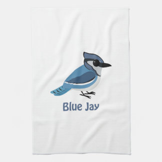 Arrendajo azul lindo toallas