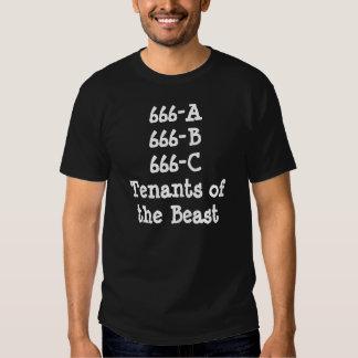 Arrendatarios de la bestia camisas