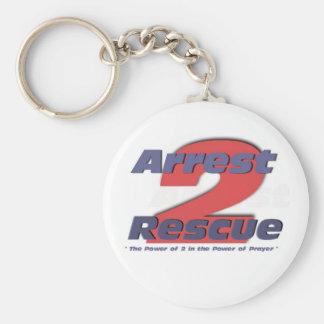 Arrest 2 Rescue Keychain