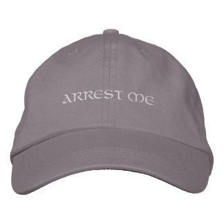 Arrest me embroidered hat