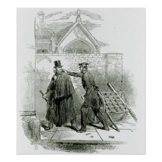 Arrest of Mr. Smith O'Brien Poster