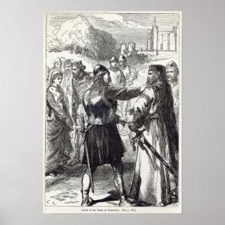 Arrest of the Duke of Gloucester Poster