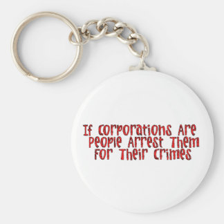 ARREST THE CORPORATIONS KEYCHAIN