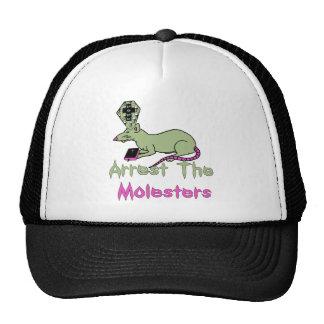 Arrest The Molesters Mesh Hats