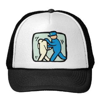 arrest trucker hat