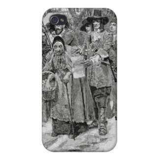 Arresting a Witch iPhone 4 Case