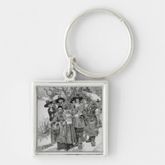 Arresting a Witch Key Chains