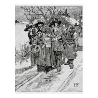 Arresting a Witch Postcard