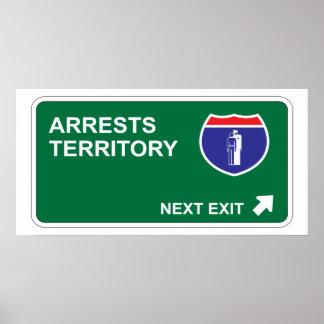 Arrests Next Exit Poster