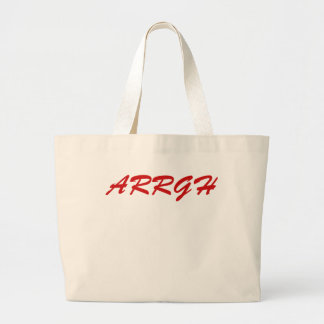 ARRGH CANVAS BAGS