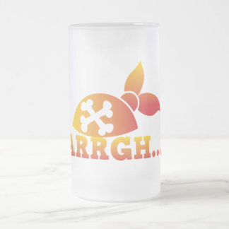 arrgh… ¡Escorbuto de PRATE yo gorra de los Taza De Cristal