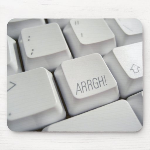 ARRGH! Keyboard Mouse Pad