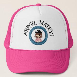 Arrgh Matey Pirate Girl Hat