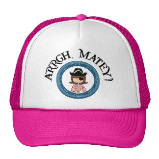 Arrgh Matey Pirate Girl Hat Hat