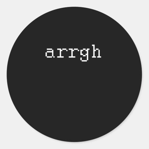 ARRGH PEGATINAS