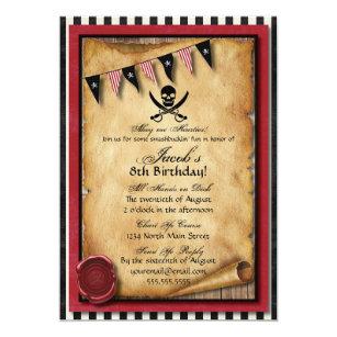 pirate invitations zazzle