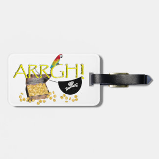 ARRGH! - Pirate Day Text Image Tags For Luggage