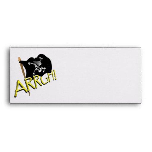 ARRGH! Pirate Flag Envelopes