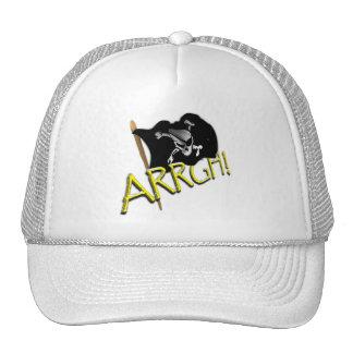 ARRGH Pirate Flag Trucker Hats