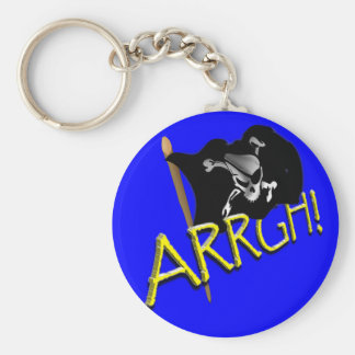 ARRGH Pirate Flag Keychains