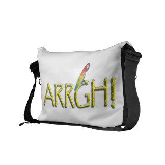ARRGH Pirate Text Design Courier Bag