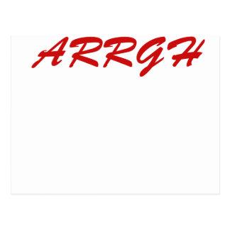 ARRGH!!! POSTCARD